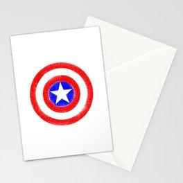 Shield (W) Stationery Cards