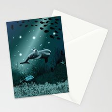 Dolphin Dream  Stationery Cards