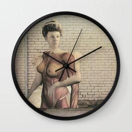 dermis_6 Wall Clock