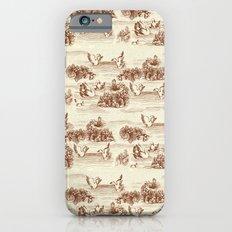 Toile de jouy Swan iPhone 6s Slim Case