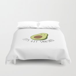 Lets Get Smashed! - Avocado Duvet Cover