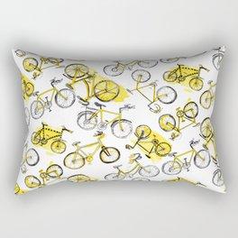 Bicycles Rectangular Pillow