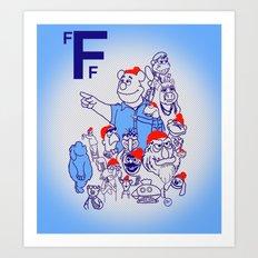 Team Fozzou Art Print
