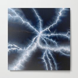 Chemistry set! Electricity Metal Print