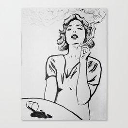 Hermine Canvas Print