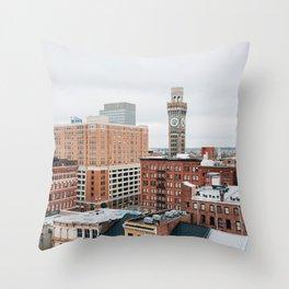 Westside, Baltimore 02 Throw Pillow