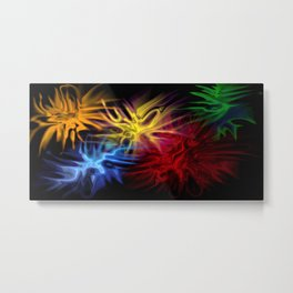 Mysteriously Metal Print