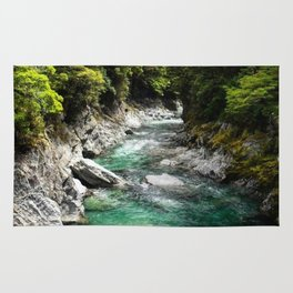 Blue Pools, Haast Pass Rug
