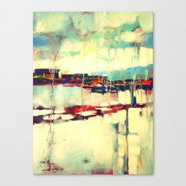 Warsaw III - abstraction Canvas Print