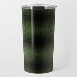 Fractal Art by Sven Fauth - Green Matrix Travel Mug