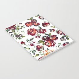 Roses Rouge Notebook
