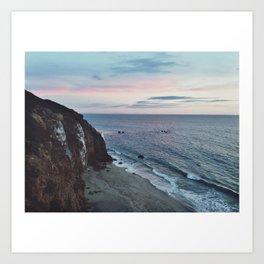 The Cliff Art Print