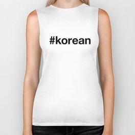KOREAN Biker Tank