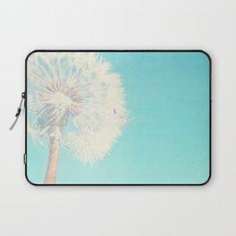 Aqua Dandelion Laptop Sleeve