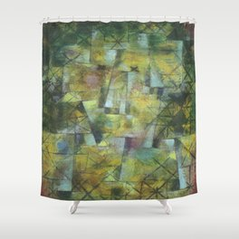 Paul Klee God of the Northern Forest Shower Curtain