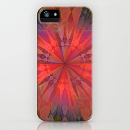 Light burst iPhone Case