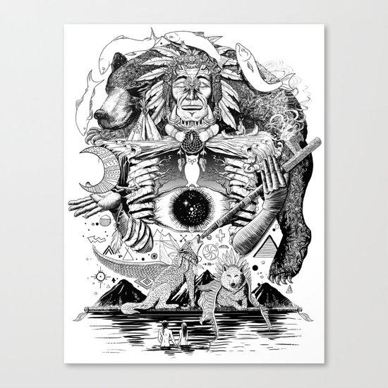 Dream Pipe Canvas Print