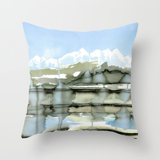 Unfreezing Throw Pillow