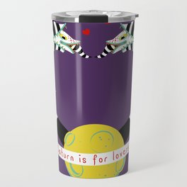 Saturn is for Lovers Travel Mug