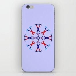 Hammers Design version 1 iPhone Skin