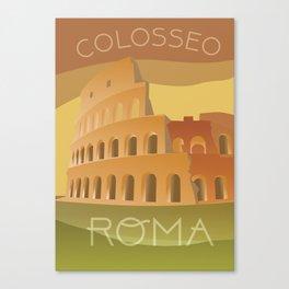 Colosseo Roma Canvas Print