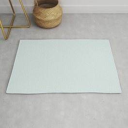 Ultra Pale Baby Blue Solid Color Pairs to Sherwin Williams Blue Horizon Sw 6497 Accent To Oceanside Dark Aqua Blue SW 6496 Rug