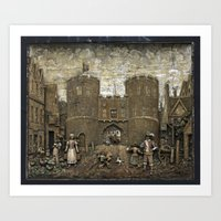 St Stephens Gate Norwich Art Print