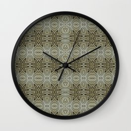 Infinity Weave | Repeat Pattern Wall Clock