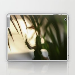 Dancing people, dance, shadows, hands and plants, blurred photography, dancer, forest, yoga Laptop & iPad Skin