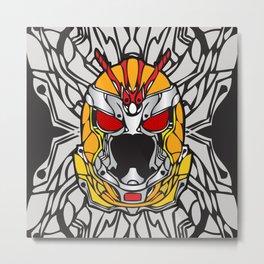 Robo Rider Metal Print