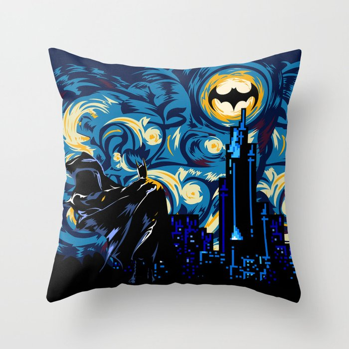 Starry Knight iPhone 4 4s 5 5c 6, pillow case, mugs and tshirt Throw Pillow