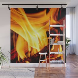 Willing to Burn Wall Mural