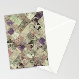 Abstract Geometric Background #25 Stationery Cards