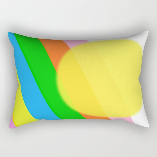 Sunshine and Rainbows Rectangular Pillow