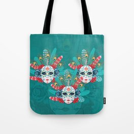 Masquerade face mask Tote Bag
