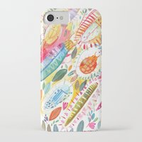 bugs iPhone & iPod Cases featuring Bugs by Mia Dunton