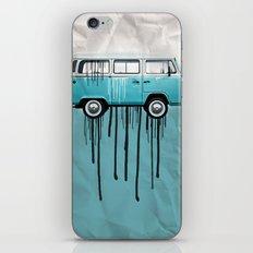 kombie 2 tone paint job iPhone & iPod Skin