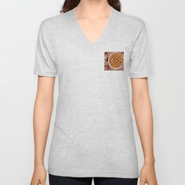 Coffee & Cherry Pie, Food For Thought Unisex V-Neck