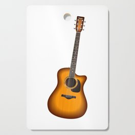 Guitar - Guitar Player Cutting Board