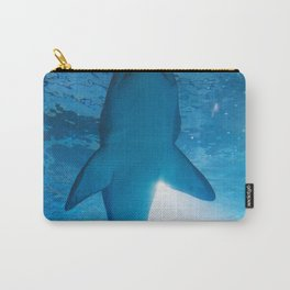 Shark Underwater (Color) Carry-All Pouch