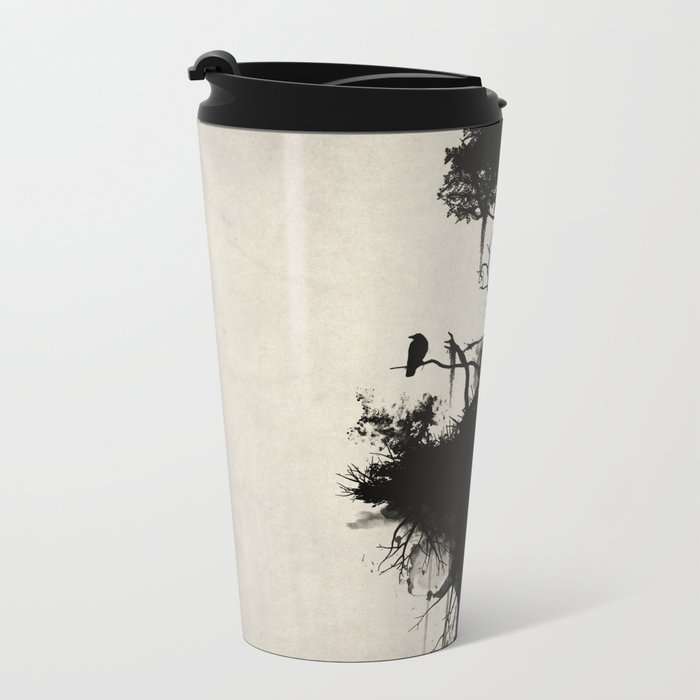 Last Tree Standing Metal Travel Mug