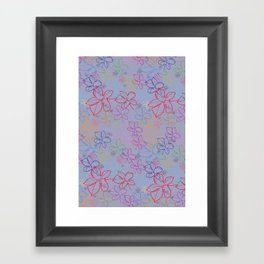 pattern v5 Framed Art Print