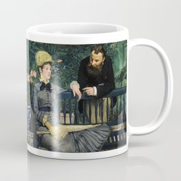 Edouard Manet - In the Conservatory Coffee Mug