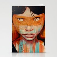 fancy Stationery Cards featuring Pele by Michael Shapcott