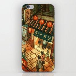 Ramen in the Alley iPhone Skin