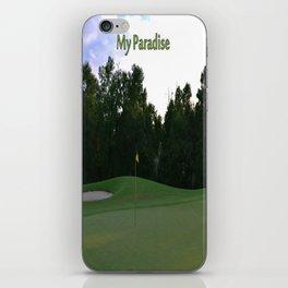 Golf Paradise iPhone Skin