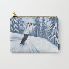 Dropping The Dream Forest Carry-All Pouch