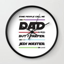 Dad - JEDI Master Wall Clock