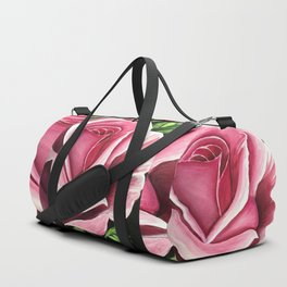 Pink Rose Duffle Bag