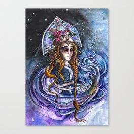 Snow Maiden Canvas Print